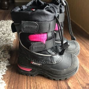 BAFFIN Winter Snow Boots Toddler Size 7 Warm & Dry
